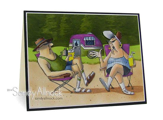 Sandy Allnock AI Hop campers1