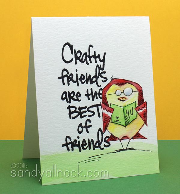 Sandy Allnock - Crazy Crafty Birds2