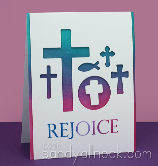 Sandy Allnock Die Cut Cross Wall Card4
