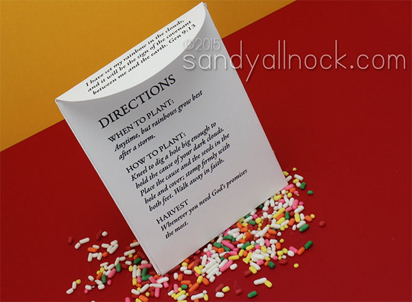 Sandy Allnock - Seed Packet Back