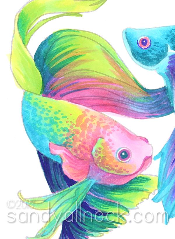 Sandy Allnock - Rainbow Betta Fish2