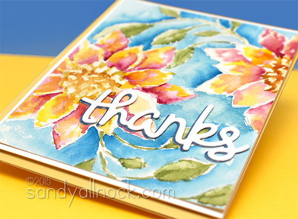 Sandy Allnock Watercolor Flowers 4b2