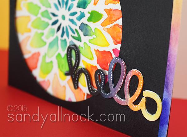 Sandy Allnock Watercolor Flowers 5b