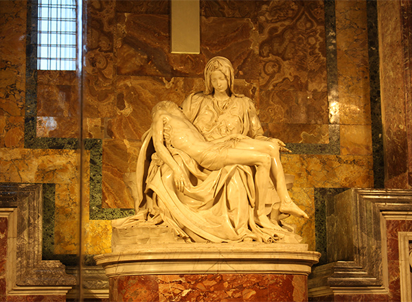 pieta by Michaelangelo