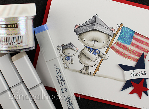 Sandy Allnock how to Color White with Copics