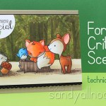 Forest critters from The Greeting Farm