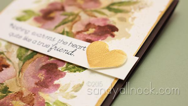 Sandy Allnock Watercolor Flowers Series 8