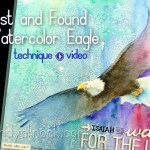 Faithbook Series 1: Lost and Found Watercolor Eagle