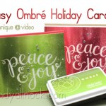 Easy Ombré Holiday Cards – celebrating with Hero Arts!