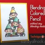 Blending Colored Pencil: Christmas Spirit