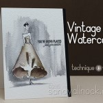 Vintage Watercolor