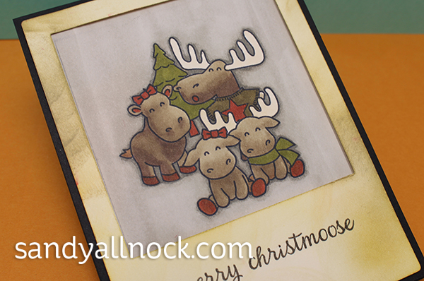 Sandy Allnock - Stamp your own family photo card2