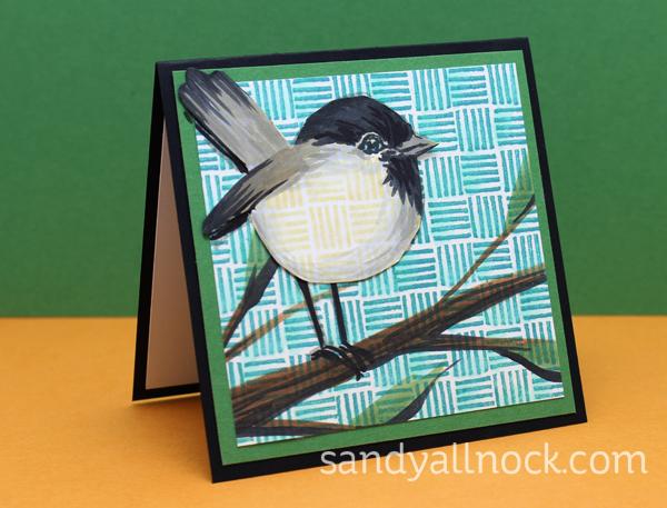 Sandy Allnock Chickadee cards 3