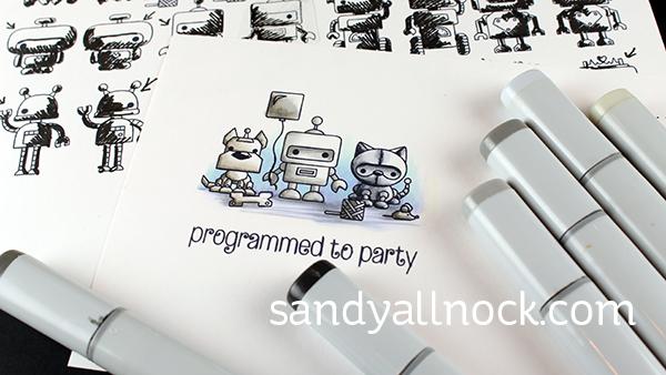 Sandy Allnock CB minibots