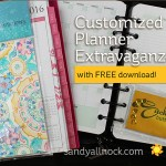 Customized Planner Extravaganza – with freebie download!