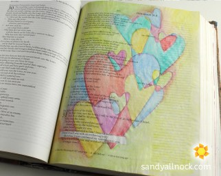 Sandy Allnock Bible Journal Everlasting Love