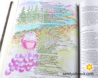 Sandy Allnock Bible Journal Manifold Works
