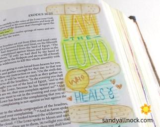 Sandy Allnock Bible Journal My Healer