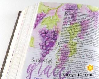 Sandy Allnock Bible Journal Scandalous Grace