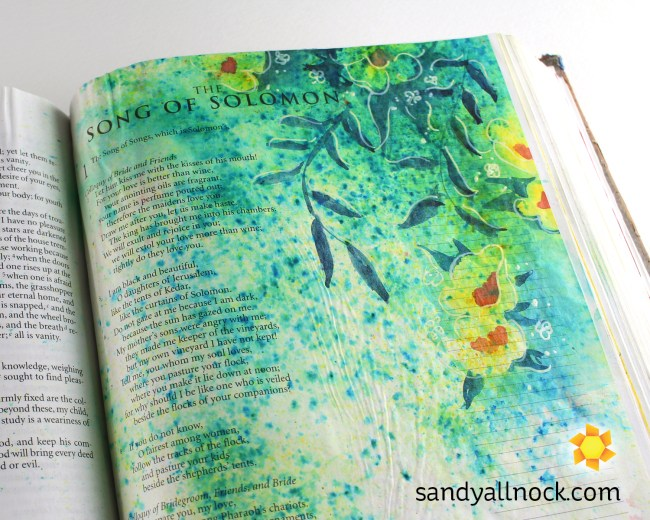 Sandy Allnock Bible Journal Song of Solomon