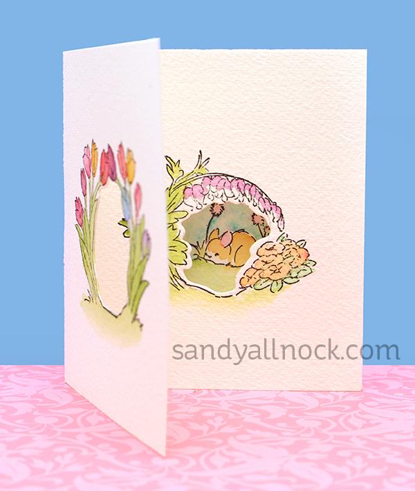Sandy Allnock Tryfold tulips2