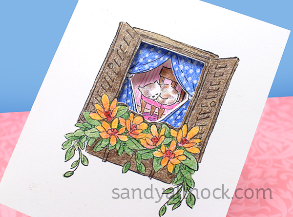 Sandy Allnock Tryfold window