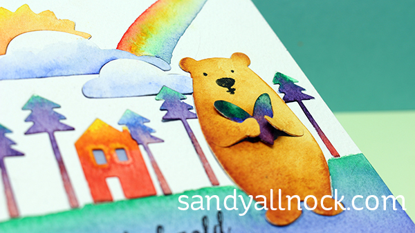 Sandy Allnock Rainbow Challenge 1