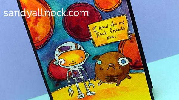 Sandy Allnock - Space Buddies