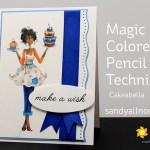 Magic Colored Pencil Technique (MCPT): Cakeabella