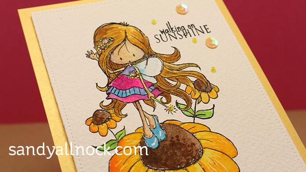 Sandy Allnock Walking on Sunshine