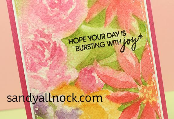 Sandy Allnock Watercolor Flowers