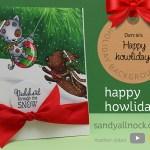 Happy Howlidays – Holiday Background