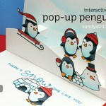 Easy Popup Penguin Card