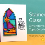 Stained Glass: Circumferential Coloring
