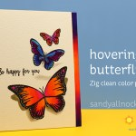 Hovering Butterflies