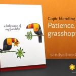 Copic Blending Tip: Patience, Grasshopper