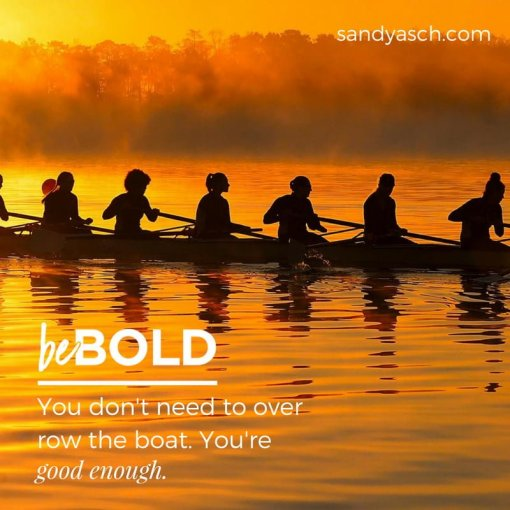 Give Up Over Rowing