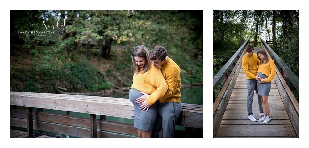 seance grossesse en extérieur - photographe Sandy b photographe Chelles