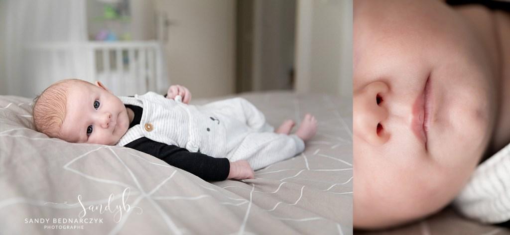 bébé et détail nez bouche