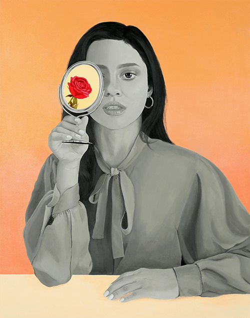 Why Can't I Be You? (2019), Acrylic on Canvas
