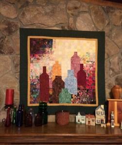 Hilda's art quilt