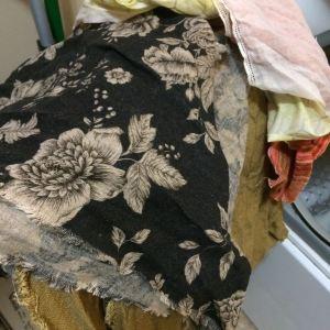 prewashing fabrics