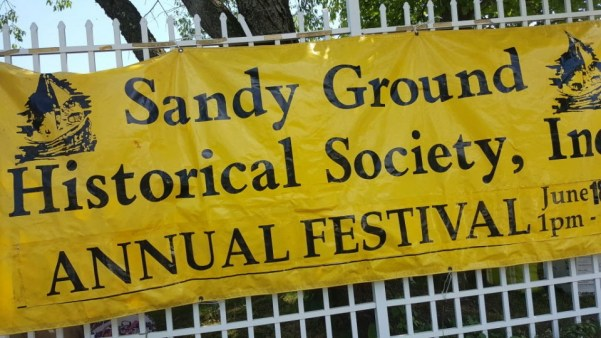 Hundreds gather at Sandy Ground Festival