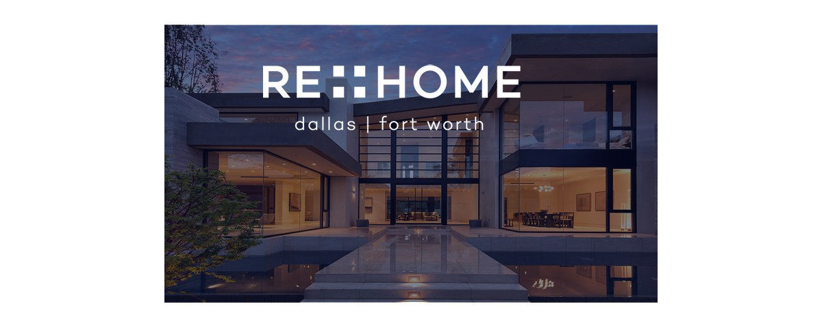 reHomeDFW social media banners designed by Sandy Hibbard Creative, inc plano texas