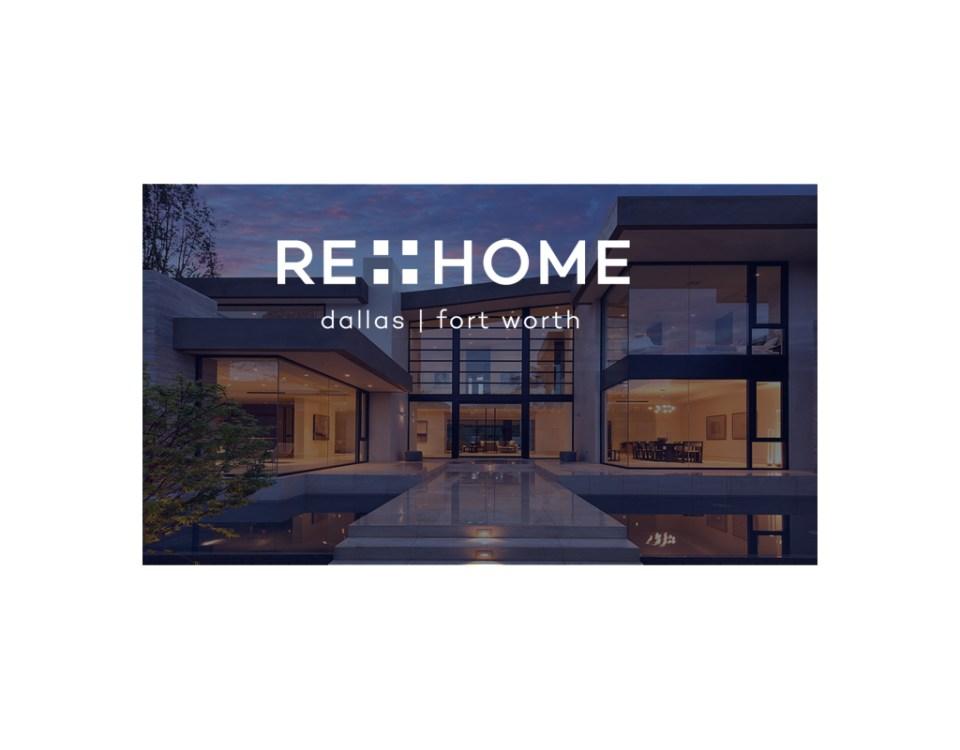 reHomeDFW social media banners designed by Sandy Hibbard Creative, inc plano texas