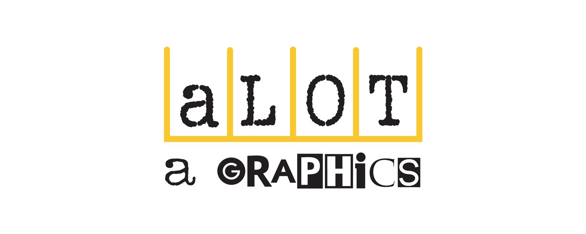 Alotagraphics.com business logo for parking lot decal company