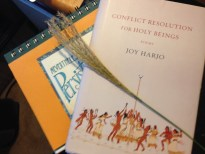 Writing Journal, Joy Harjo Book, Pampas Grass