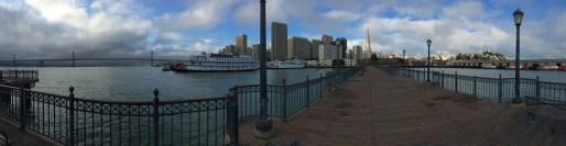 Panorama from San Francisco Bay