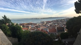 View from a castle