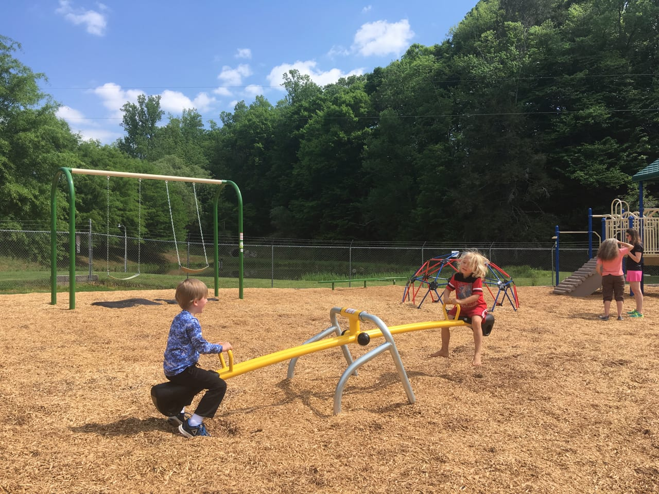 Grand Opening of Our Sandy Mush Playground is Saturday, May 19th!!
